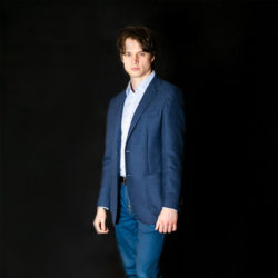 Francesco Vanni figura intera blu 2